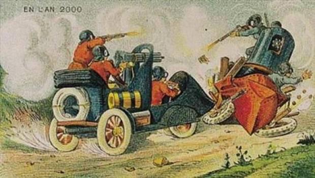100 yıl önce geleceği böyle çizmişlerdi! - Page 4