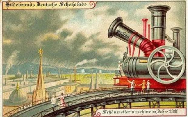 100 yıl önce geleceğin teknolojileri böyle çizilmiş - Page 4