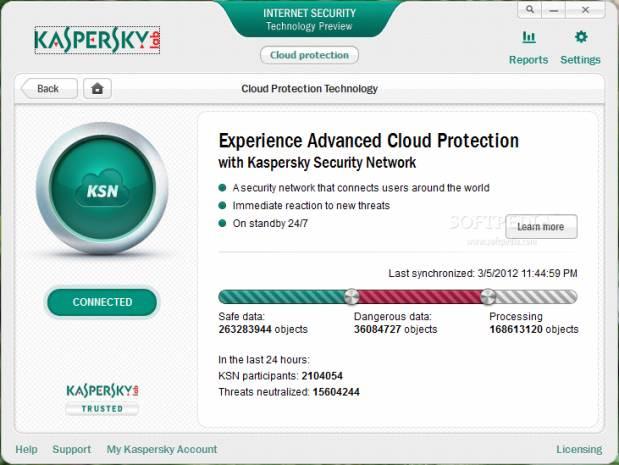 Kaspersky Internet Security Teknolojik Önizleme - Page 4