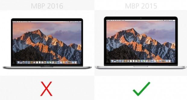 15-inç MacBook Pro 2016 ve 2015 karşılaştırma - Page 2