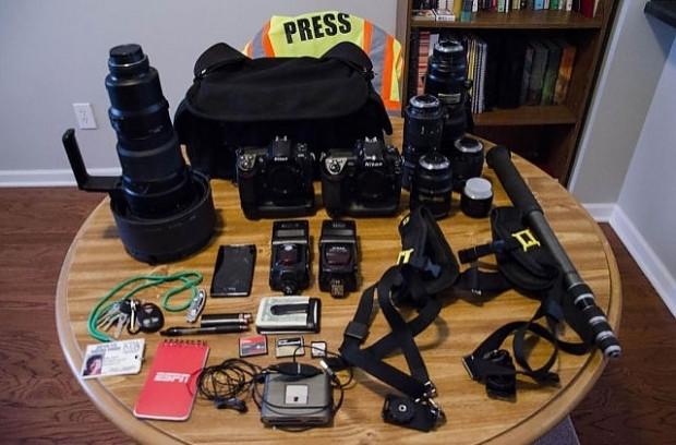 16 farklı meslekten insanın çantalarında taşıdıkları eşyalar - Page 1