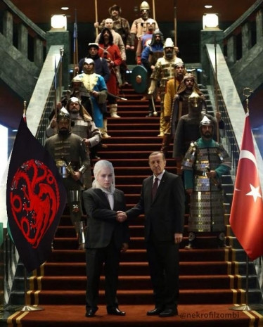 16 Türk devleti temsilli ilginç karşılama töreni üzerine 18 caps - Page 2
