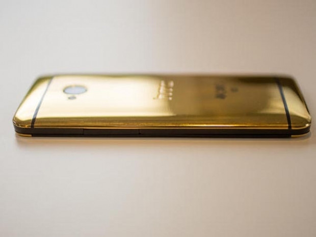 18 ayar altın HTC One, göz kamaştırıyor - Page 1