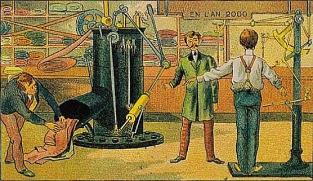 1910 Yılında yapılan 16 çizimle 2000 yılının tahmini - Page 2