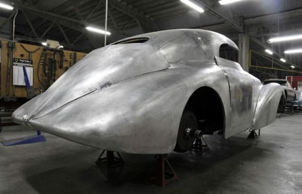 1938 540K Streamliner öyle bir restore edildi ki - Page 1