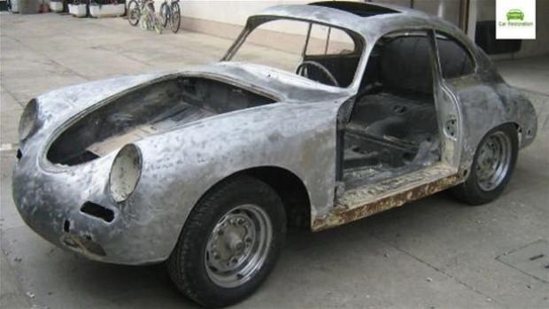 1955 model Porsche 356B'ye muhteşem modifiye - Page 2
