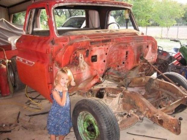 1966 model hurda kamyonetin son haline bakın - Page 1