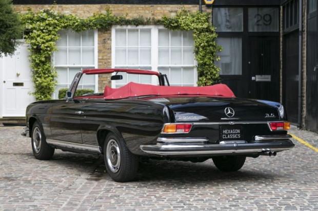 1970 model Mercedes Benz 280 SE Cabriolet - Page 3