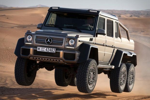 2.5 milyonluk arazi aracı Mercedes AMG G63, 6×6 - Page 1