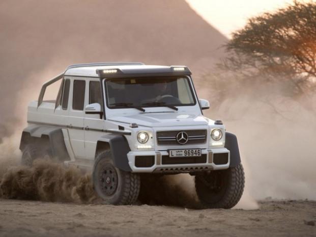 2.5 milyonluk arazi aracı Mercedes AMG G63, 6×6 - Page 4