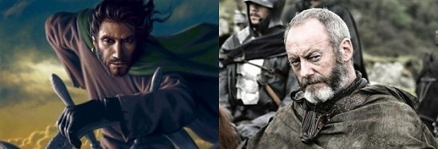 Game Of Thrones Karakterinin Kitapta Tasvir Edilen Görünüşleri vs Dizide İzlediğimiz Görünüşleri - Page 1