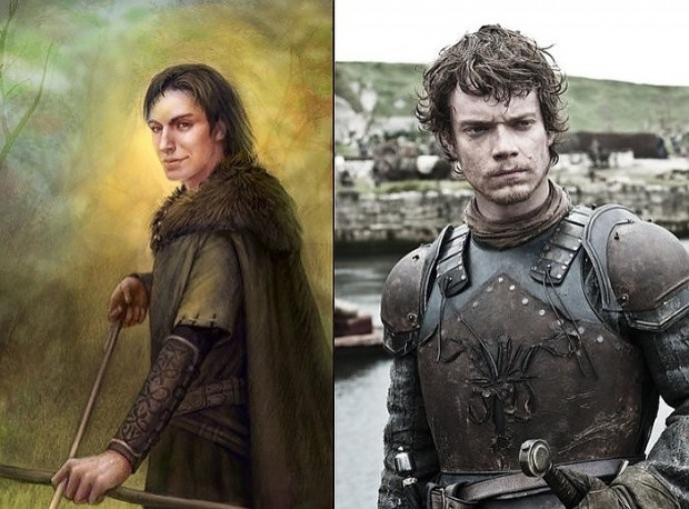 Game Of Thrones Karakterinin Kitapta Tasvir Edilen Görünüşleri vs Dizide İzlediğimiz Görünüşleri - Page 2