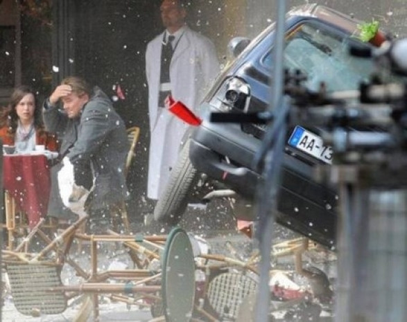 2010 yılında vizyona giren Inception filminin perde arkası görüntüleri - Page 1