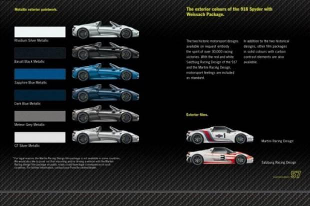 2014 Porsche 918 Spyder internete sızdı - Page 3