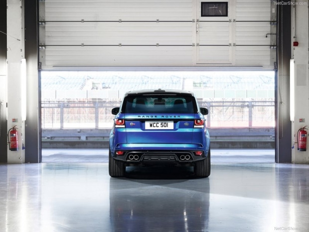 2015 Land Rover Range Rover Sport SVR - Page 1
