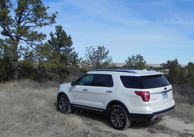 2016 Ford Explorer Platin - Page 1