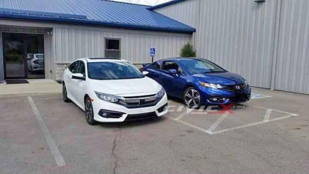 2016 Honda Civic Sedan ve Coupe yan yana - Page 2