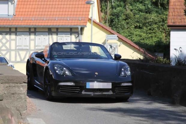 2016 Porsche Boxster kameralara yakalandı - Page 3