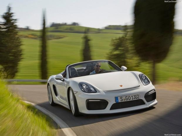 2016 Porsche Boxster Spyder - Page 1