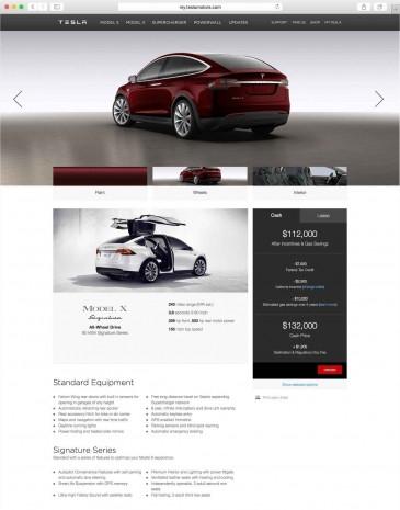 2016 Tesla Model X'in ilk fotoğrafları ve özellikleri - Page 4