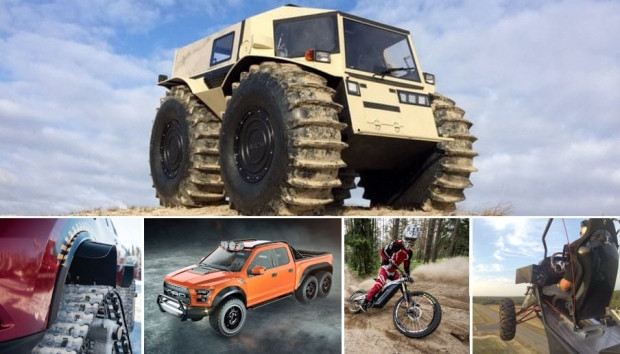 2016 yılının en iyi off-road araçları - Page 1