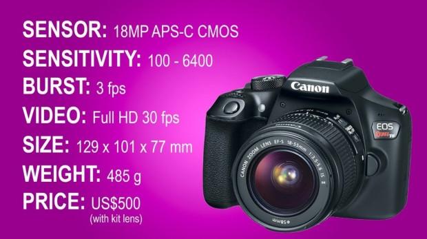 2016'da tanıtılan en iyi DSLR fotoğraf makineleri - Page 2