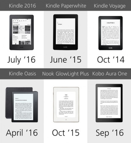 2016'nın en iyi  E-Reader'ları karşılaştırıldı - Page 3