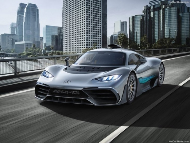 2017 Mercedes-Benz AMG Project ONE konsept - Page 1