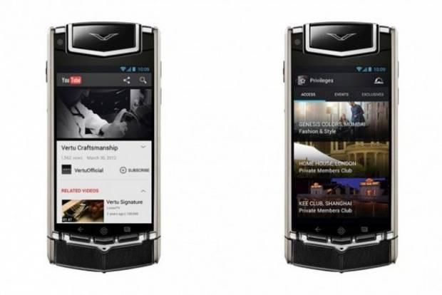 22 bin dolarlık telefon Vertu Ti tanıtıldı - Page 4