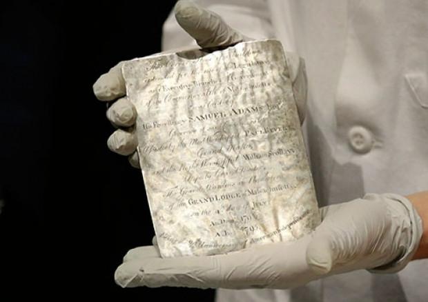 220 yıllık en eski zaman kapsülü açıldı - Page 2