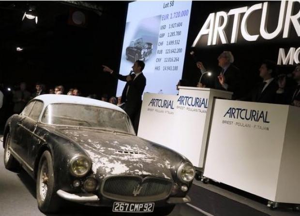 23 milyon dolara satılan antika Ferrari - Page 1
