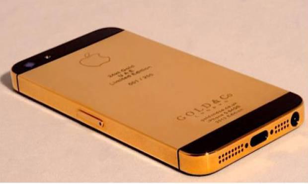 24 ayar altın kaplama iPhone 5! - Page 1