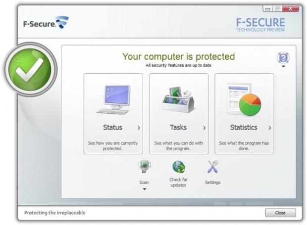 Скачать бесплатно F-Secure Internet Security v.10.12.108 + ключ (crack) Рус