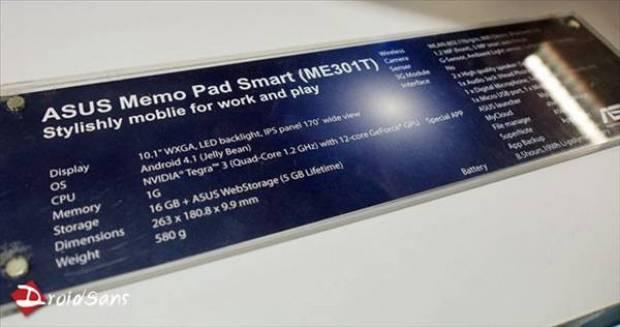 25 Şubat'ta piyasada ASUS MeMo Pad'in özellikleri ve fiyatı - Page 4
