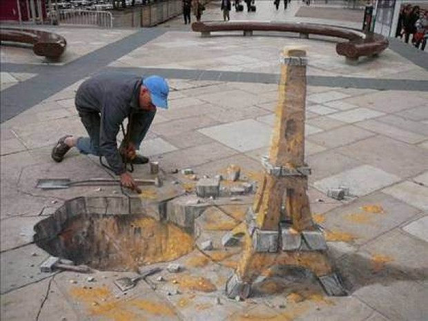 3d sokak çizimleri büyük ilgi toplamayı başarıyor - Page 2