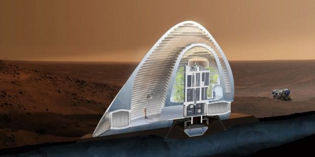 3D yazıcıdan çıkan Mars konutları - Page 1
