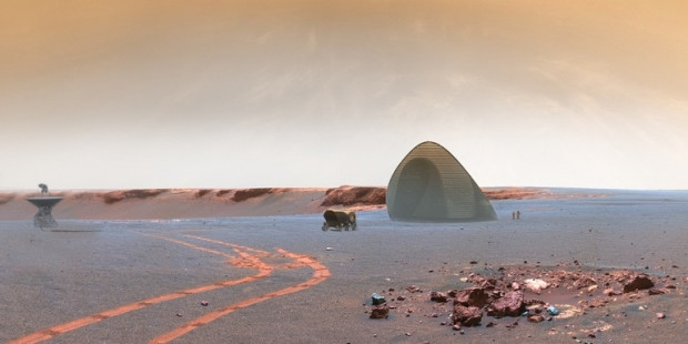3D yazıcıdan çıkan Mars konutları - Page 4