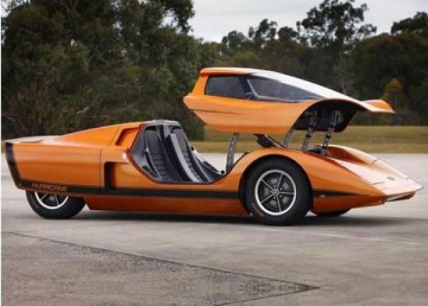42 yıllık konsept otomobil restore edildi! - Page 1