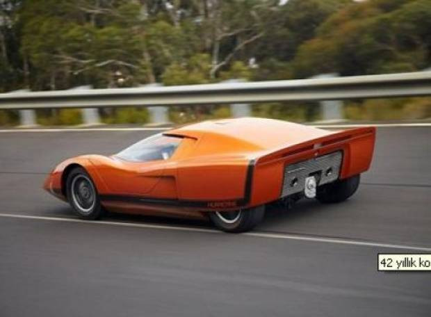42 yıllık konsept otomobil restore edildi! - Page 3