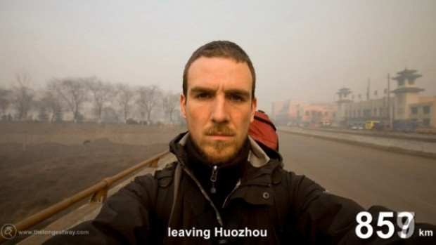 4700 km yürüyüp Çin'i gezen adam - Page 2