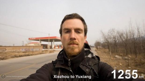 4700 km yürüyüp Çin'i gezen adam - Page 3