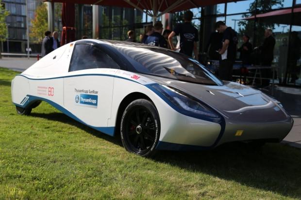7 fütüristik güneş enerjili araba - Page 2