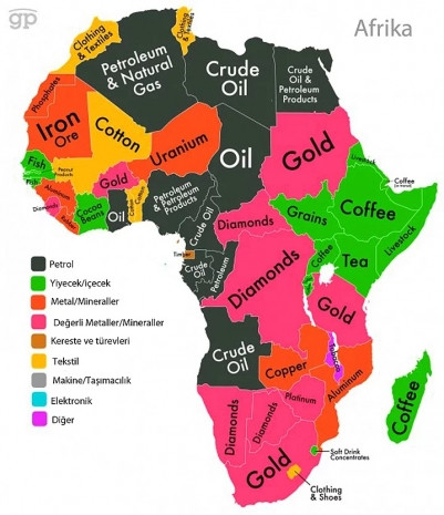 7 harita ile her ülkenin en büyük ihracat kalemi - Page 1