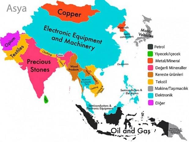7 harita ile her ülkenin en büyük ihracat kalemi - Page 3