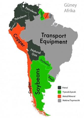 7 harita ile her ülkenin en büyük ihracat kalemi - Page 4