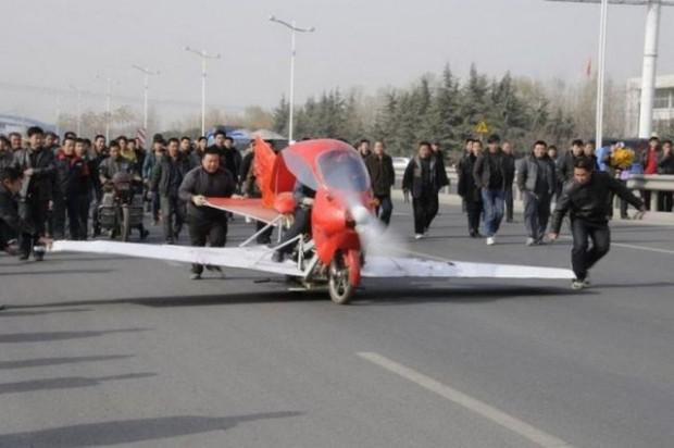 800 dolar harcayarak uçan motorsiklet yaptı! - Page 3