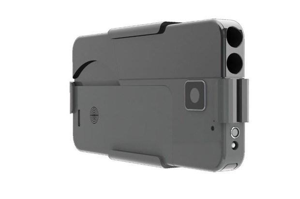 9 mm'lik tabancaya iPhone maskesi! - Page 1