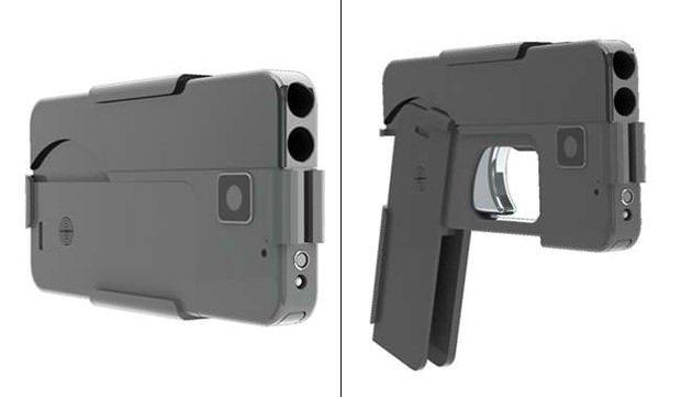 9 mm'lik tabancaya iPhone maskesi! - Page 4