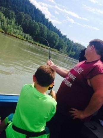 9 yaşında 270 kiloluk balık tuttu - Page 2