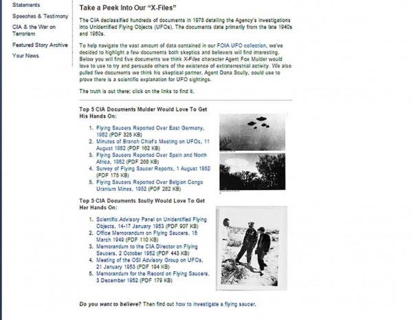 ABD istihbarat örgütü CIA, gizli UFO dosyalarını erişime açtı - Page 2
